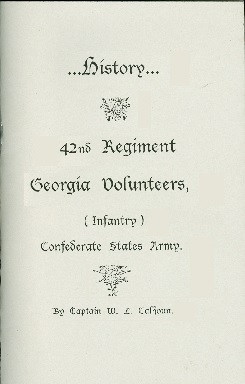 History of the 42nd Georgia