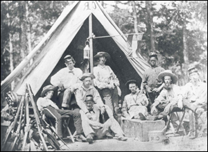 Research online georgia 5th infantry regiment relaxing in camp are soldiers of the clinch rifles company a 5th georgia infantry regiment the original of this image taken on a wet plate glass fandeluxe Choice Image
