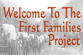The First Families Project